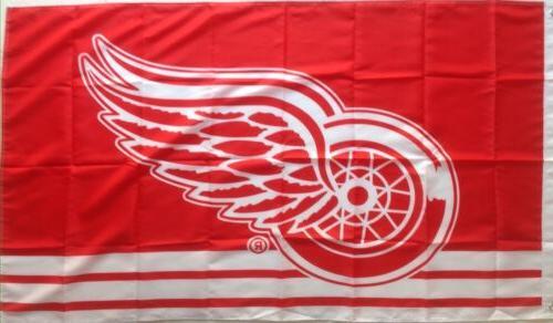 detroit red wings 3 x5 banner flag