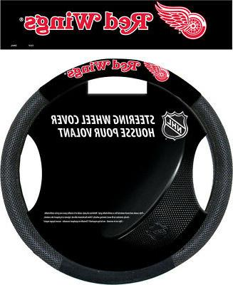 detroit red wings black poly
