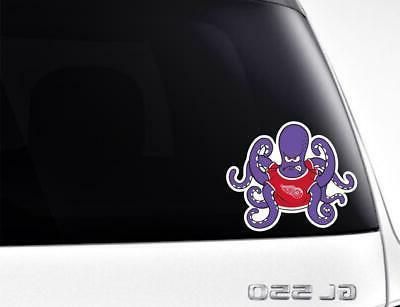 Detroit Red ~ Vinyl Sticker Graphics,