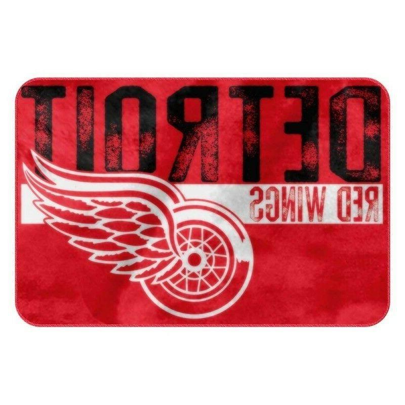 detroit red wings foam bath mat 20
