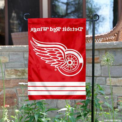 detroit red wings garden flag and yard