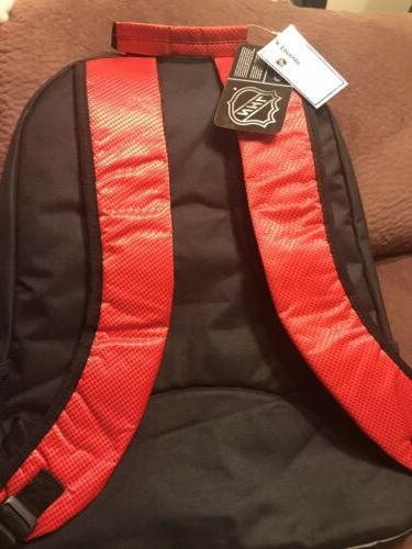 Detroit Wings NEW Backpack School Now!