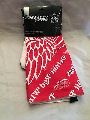 detroit red wings new deluxe bbq grill