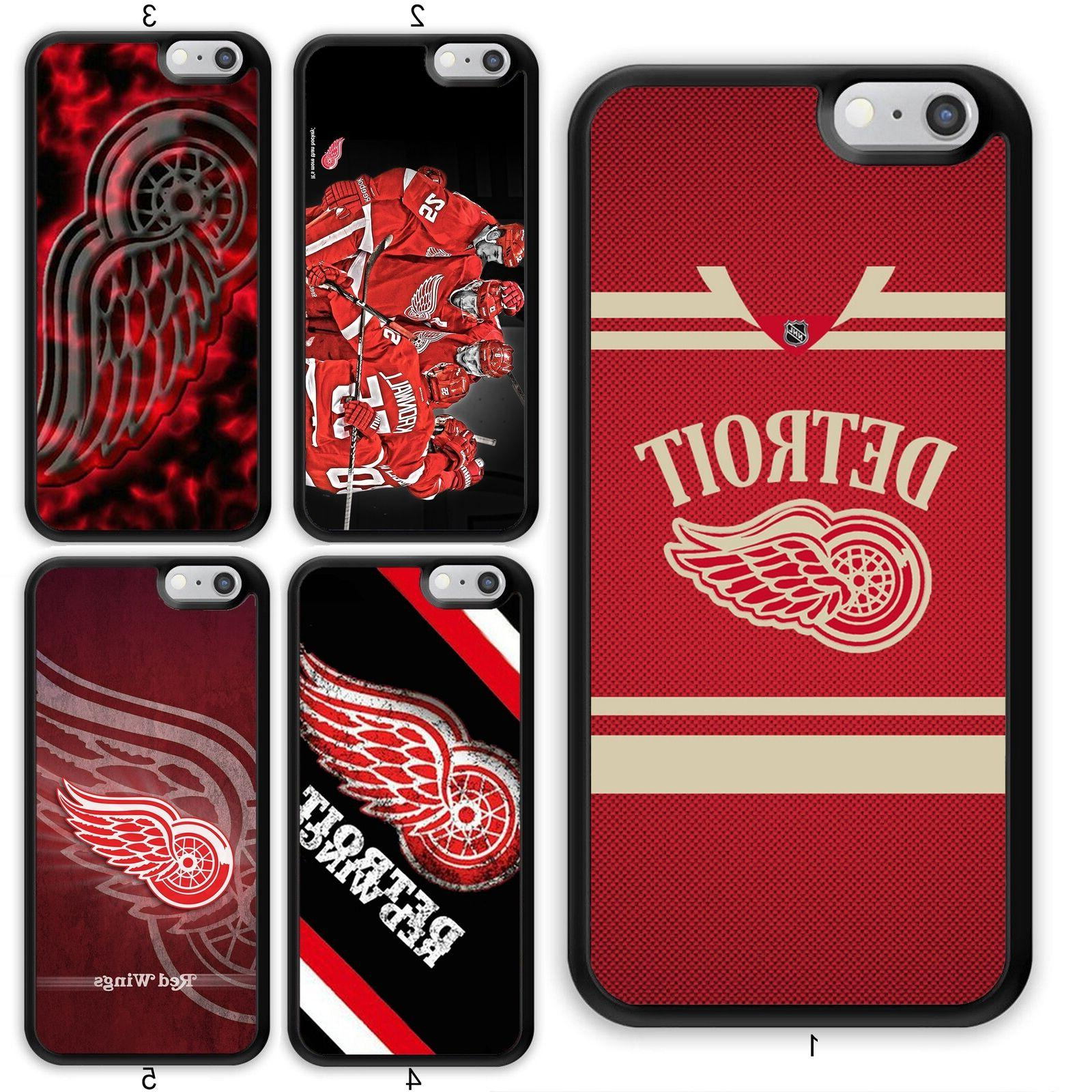 detroit red wings nhl case cover