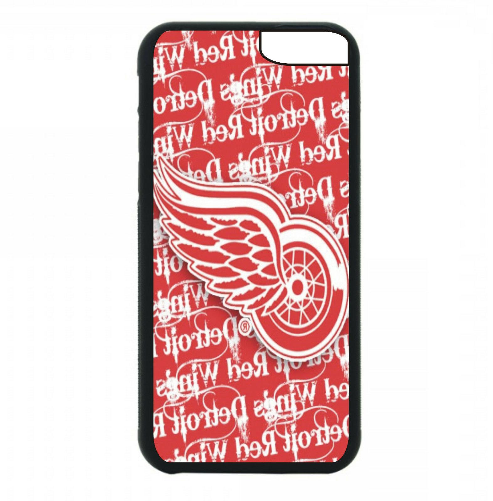 detroit red wings phone case for iphone