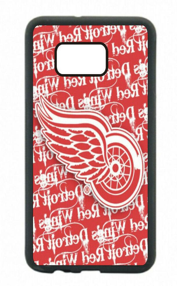 detroit red wings phone case for samsung