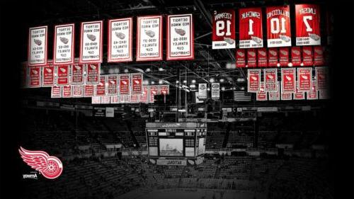Detroit Stanley Numbers Decal Banners