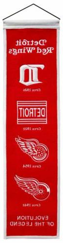 Detroit Red Wings Sport Team Heritage Banner 4010