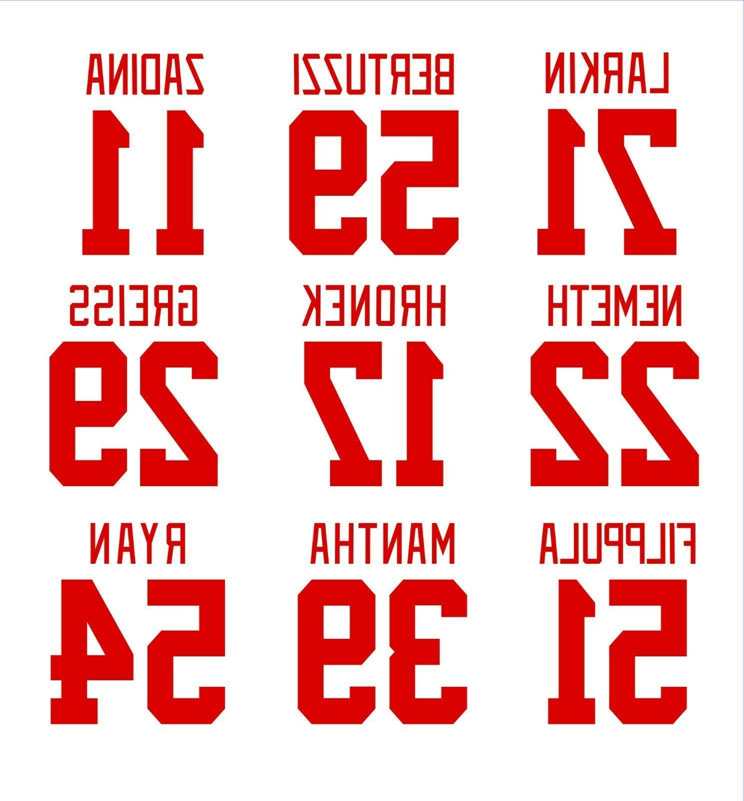detroit red wings sticker decal larkin bertuzzi