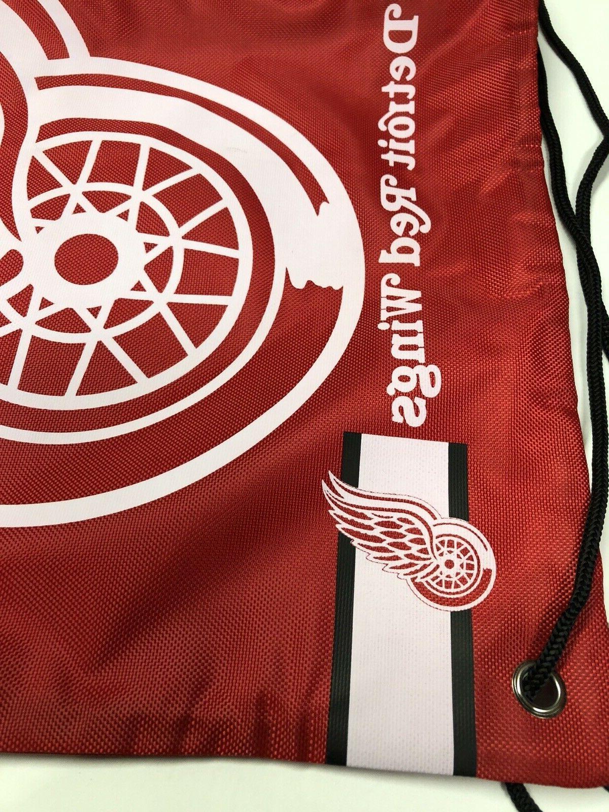 Detroit NHL Logo Bag