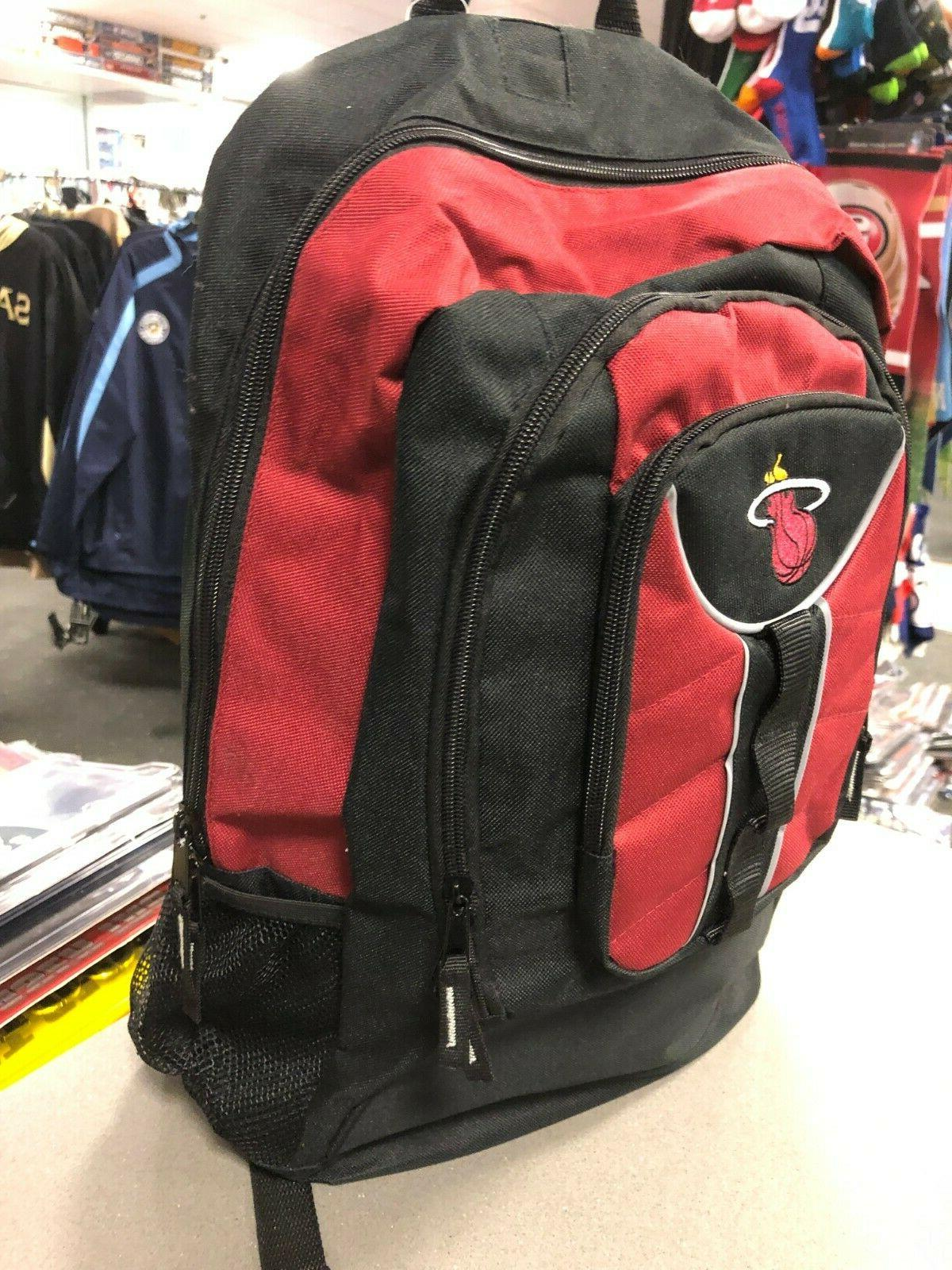 miami heat backpack by black