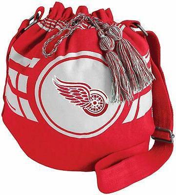 new detroit red wings ripple drawstring bucket