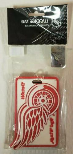 NHL Detroit Red Wings 3D Effect Luggage Tag