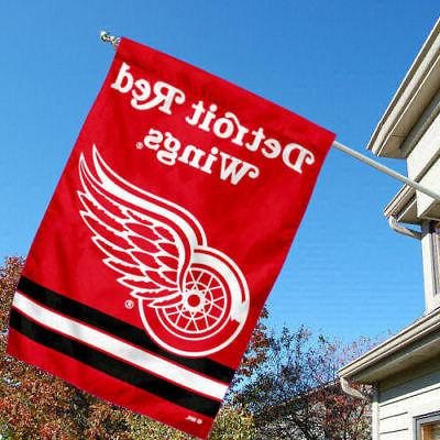 NHL Wings House Flag and Banner