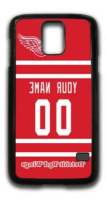 NHL Detroit Red Wings Personalized Name/Number Samsung Phone