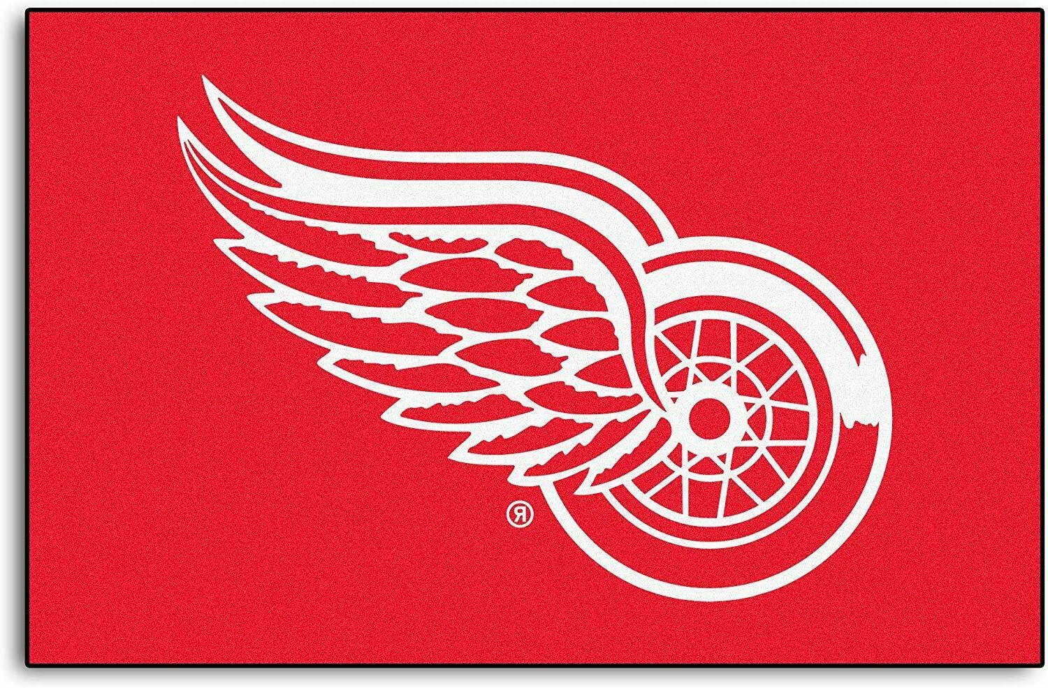 nhl detroit red wings rookie mat area
