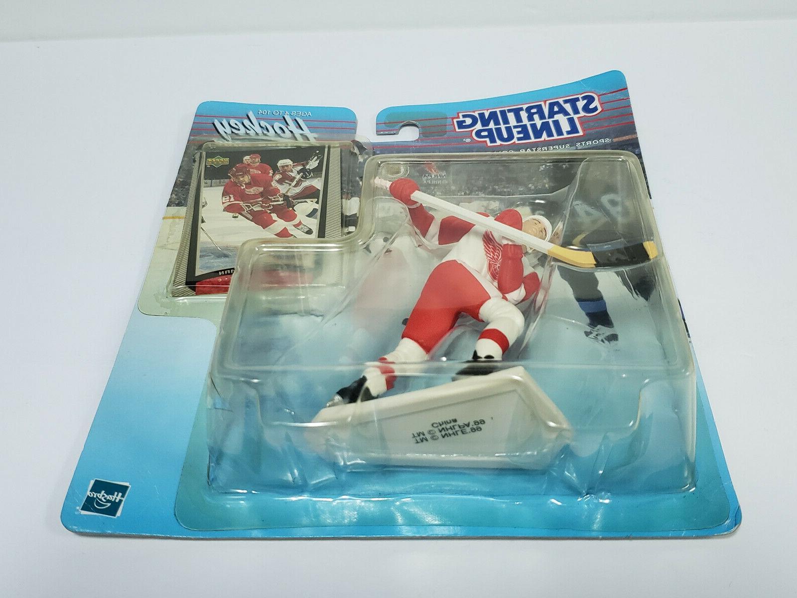 STEVE YZERMAN Detroit Wings Starting NHL 1999-2000