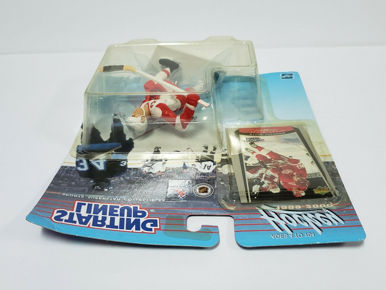 STEVE Detroit Wings Starting Lineup NHL 1999-2000 &