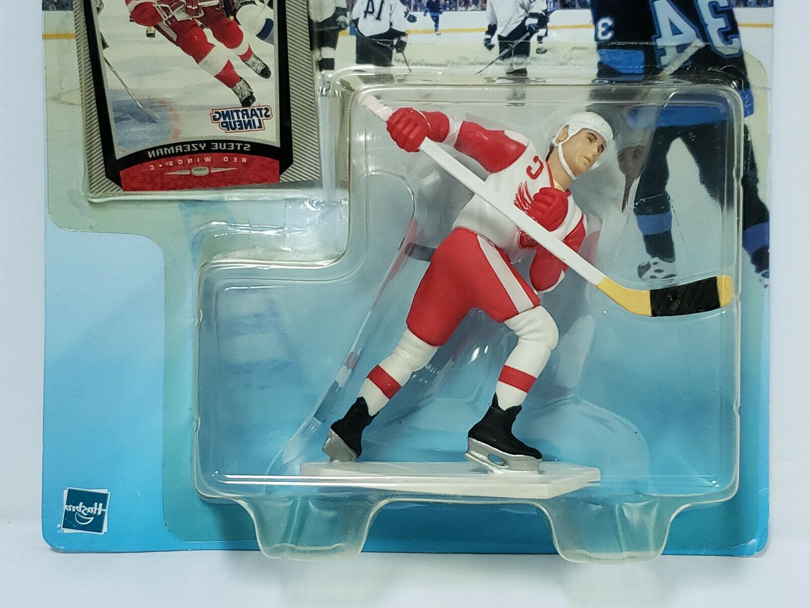 STEVE YZERMAN Wings Starting NHL 1999-2000 Card