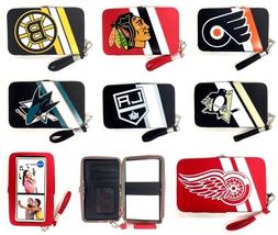 Licensed Cell Phone Smart Phone Case Wristlet Wallet - New -