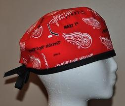 Men's Detroit Red Wings/NHL Scrub Cap/Hat - One Size Fits Mo