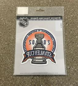NEW 2002 NHL Stanley Cup Finals Jersey Patch Detroit Red Win