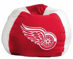 new detroit red wings bean bag chair