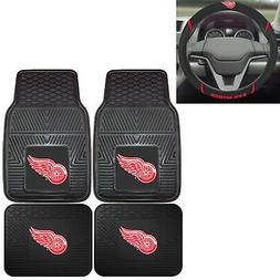 New NHL Detroit Red Wings Car Truck Front Back Floor Mats &