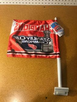 NHL Detroit Red Wings 2008 Stanley Cup Champions Car Flag Do
