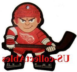 NHL Detroit Red Wings Lil Sports Brat Air Freshener Rare Nov
