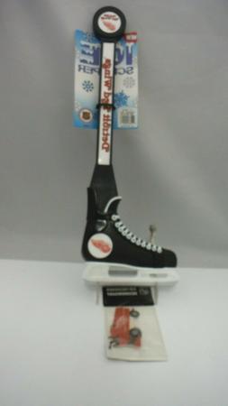 NHL Detroit Red Wings Logo Hockey Skate Ice Scraper &  Zambo