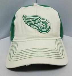 Reebok NHL Detroit Red Wings Multi Green Color Men's Adjusta
