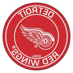 nhl detroit red wings roundel mat area