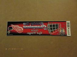 NHL Detroit Red Wings Vintage 2002 Stanley Cup Champions Goa