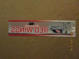 NHL Detroit Red Wings Vintage 2008 Stanley Cup Champions Hoc