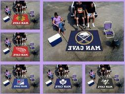 NHL Licensed 5'X6' Man Cave Tailgater Area Rug Floor Mat Car