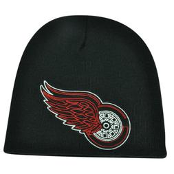 NHL Zephyr Detroit Red Wings X Ray Cuffless Beanie Knit Toqu