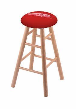 oak bar stool in natural finish