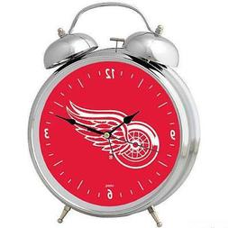 Officially Licensed NHL Detroit Red Wings Retro Twin Bell Al
