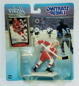STEVE YZERMAN Detroit Red Wings Starting Lineup SLU NHL 1999